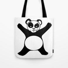Panda Love Hug Tote Bag