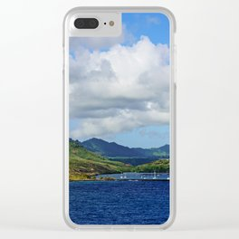 Kauai's Port Clear iPhone Case