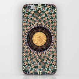 Chinese ceiling iPhone Skin