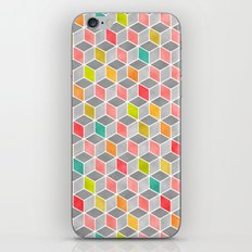 Block Party Bright iPhone & iPod Skin