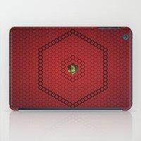 hexagon iPad Cases featuring Hexagon by BoxEstudio