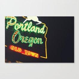 Portland! Canvas Print