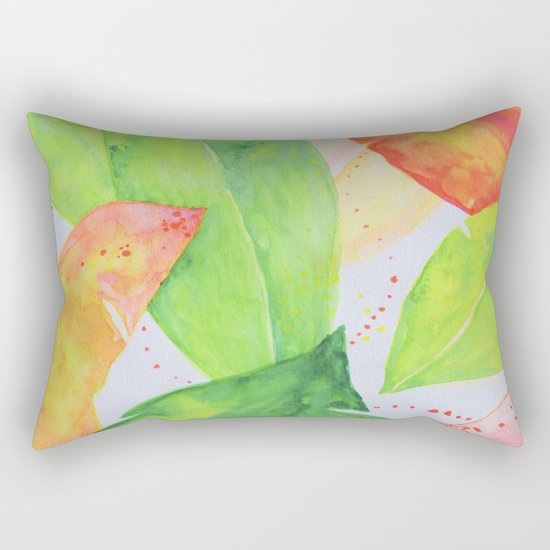 Botanical vibes 07 Rectangular Pillow