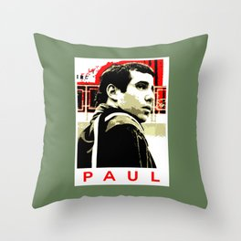 Paul Simon Throw Pillow
