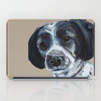 finn iPad Cases featuring Finn by Ginny M