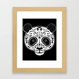 Dark Panda Framed Art Print
