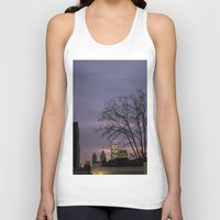 skyline Tank Tops featuring skyline by Amanda Stockwell