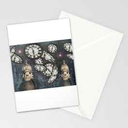 """Les gardiens du temps arrêté"" / ""The guardians of the time stopped"" Stationery Cards"