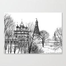 Iossifo-Volotsky Monastery SK02P Canvas Print