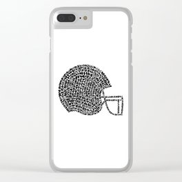 Raiders Clear iPhone Case