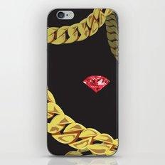 Luxury Red iPhone & iPod Skin