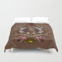 murray Duvet Covers featuring Murray crest by Rodrigo Ferreira