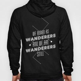 Wanderers - MSL/Curiosity Commemoration Print Hoody
