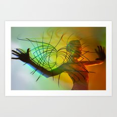 Playing with Infinity Art Print