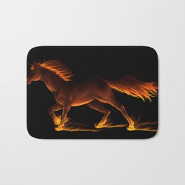 Fire Trail Horse Bath Mat
