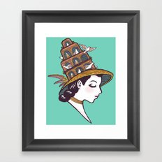 Bird House Couture Framed Art Print