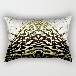 Shield of Gold Palms Rectangular Pillow