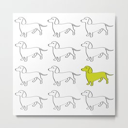 Weenie Collective Metal Print