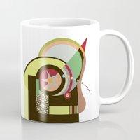 bauhaus Mugs featuring Bauhaus I by Lanre Studio