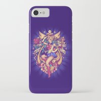 sailormoon iPhone & iPod Cases featuring In the Name of the Moon by Megan Lara