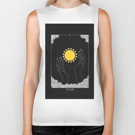 The Sun - Tarot Illustration Biker Tank