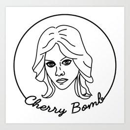 Cherie Currie Art Print