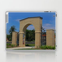 Lourdes University- Lourdes Entrance in the Spring II Laptop & iPad Skin