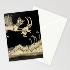 An Abrupt Farewell Stationery Cards