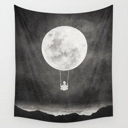 Moon Swing Wall Tapestry