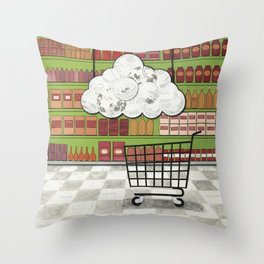 The Ride Throw Pillow