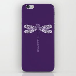 dragonfly in acai iPhone Skin