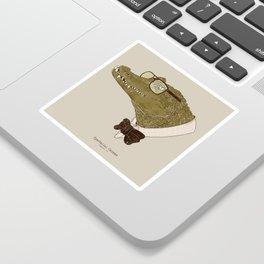 Spectacle(d) Caiman Sticker