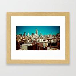 This Was Midtown Manhattan Framed Art Print