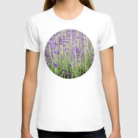 lavender T-shirts featuring Lavender by A Wandering Soul