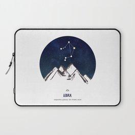 Astrology Libra Zodiac Horoscope Constellation Star Sign Watercolor Poster Wall Art Laptop Sleeve