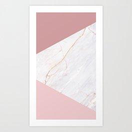 Marble case Art Print