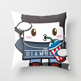 Kawaii Slushy Throw Pillow
