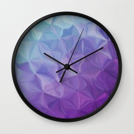 Abstract painting color texture Wall Clock