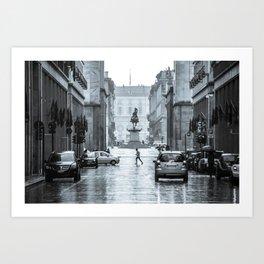 Via Roma | Turin | Italy Art Print