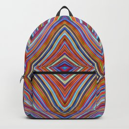Wild Wavy Diamonds 22 Backpack