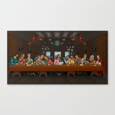 Just Another Supper Canvas Print