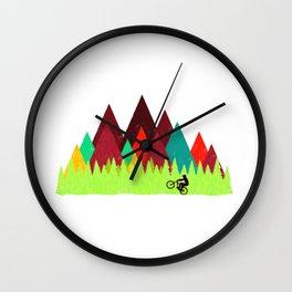 MTB Trails Wall Clock