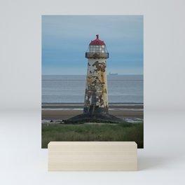 Talacre Lighthouse Mini Art Print