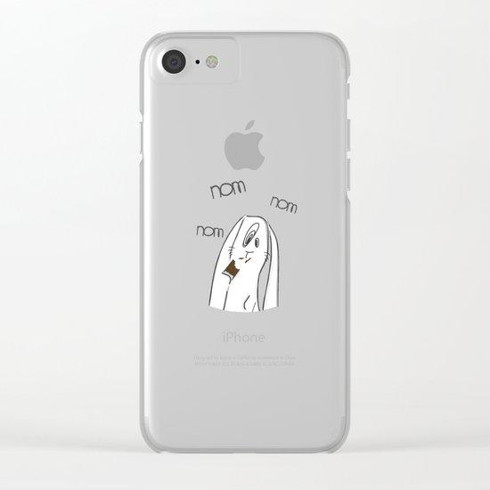 Nom, nom, nom #2 Clear iPhone Case