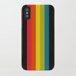Retro Camera Color Palette iPhone Case