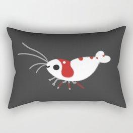 Crystal red shrimps Rectangular Pillow