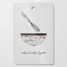 Whip It Good, Music Quote Cutting Board