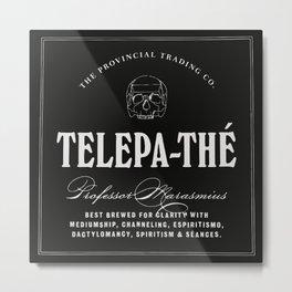 TELEPA-THÉ Metal Print