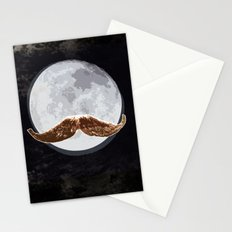 agent moon Stationery Cards