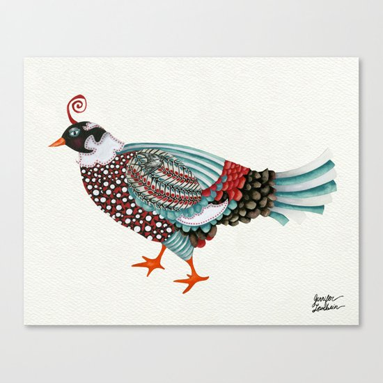 Pheasant Noble 2 Canvas Print